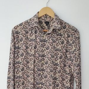 PAUL SMITH Floral Paisley Men's Shirt Small